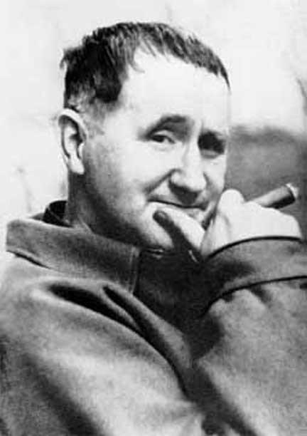 Brecht et la chanson du Dieu bonheur dans Ma chronique dans Cerises brecht