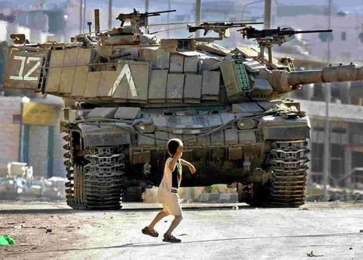 Enfant palestine char