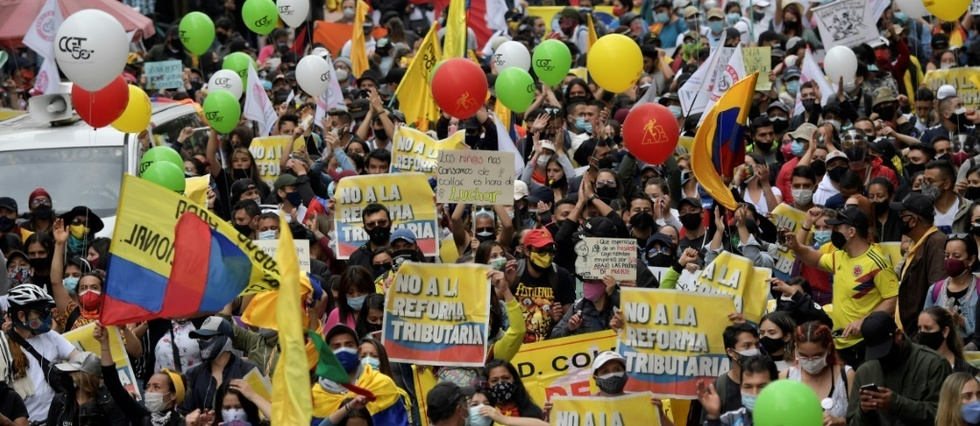 Manif Colombie 2021