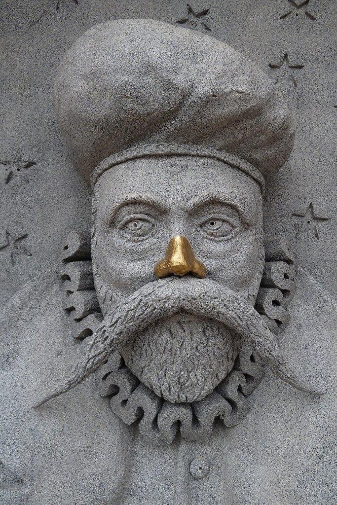 Tycho Brahe et nez